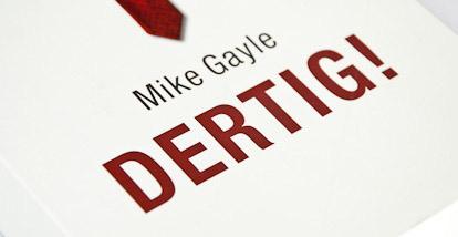 Dertig – Mike Gayle