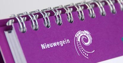 Tafelkalender 'flexibiliteit'