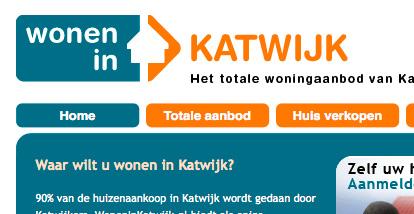 website wonen in katwijk