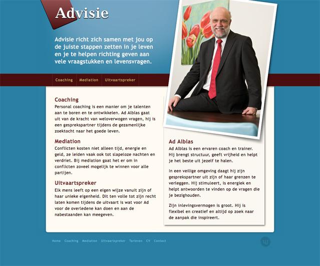 advisie_homepage