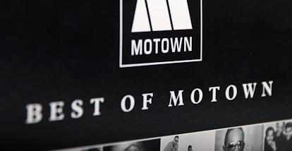 8 CD-box Best of Motown