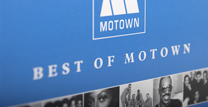 10 CD-box Best of Motown