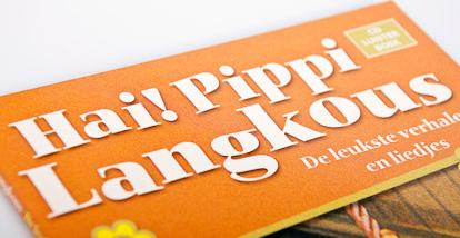 2 cd luisterboek Hai! Pipi Langkous