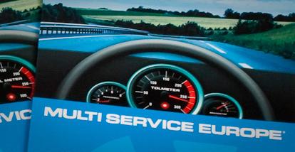Multi Service – Mailing kaart