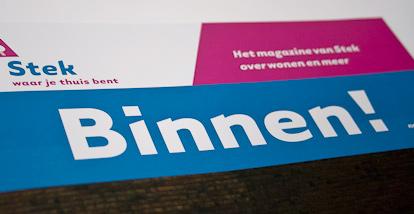 Stek magazine nr. 3 – Binnen!