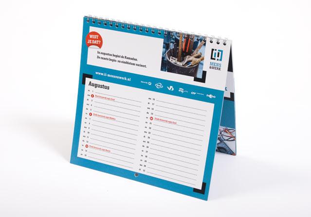 I&I kalender 2010 staand