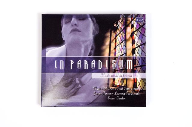 Voorkant CD digipack In Paradisum