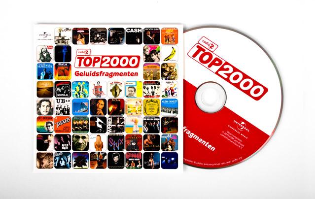 Top2000 CD singel met geluidsfragmenten