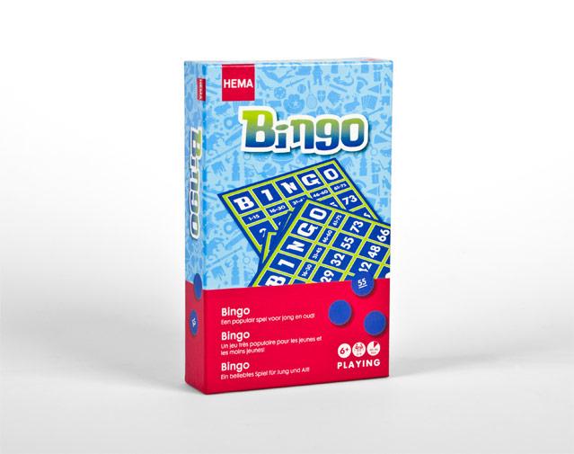Hema verpakking Bingo
