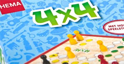 Hema spel 4×4