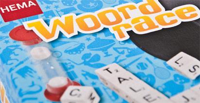 Hema spel Woordrace