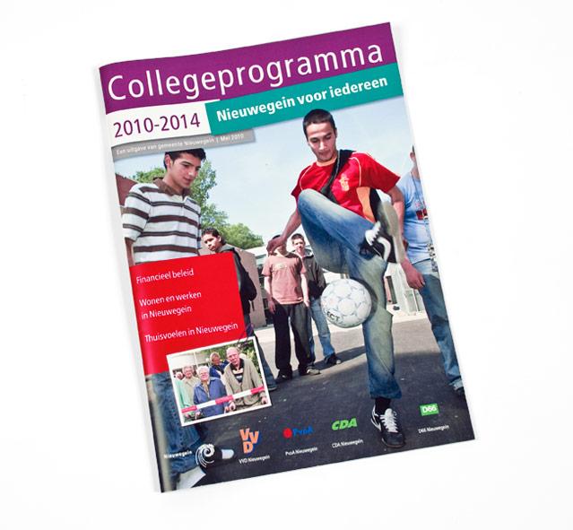 collegeprogramma 2010-2014 gemeente nieuwegein