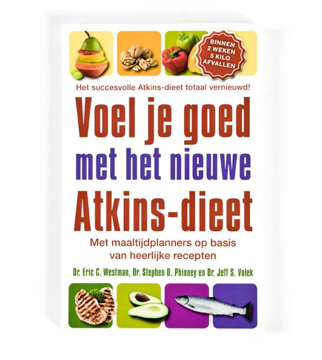 voorkant Voel je goed met nieuwe Atkins-dieet