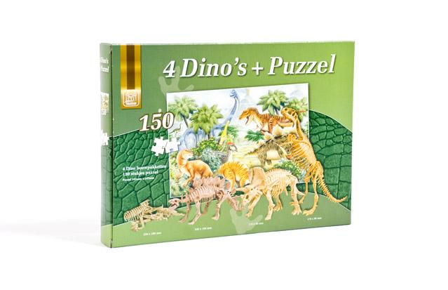 dino puzzel verpakking