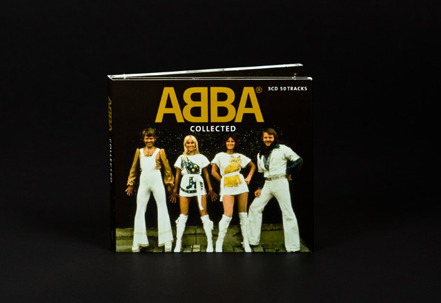 voorkant digipack abba collected