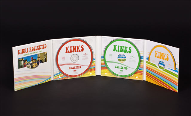 kinks collected binnenwerk cd collorfold