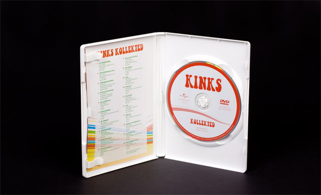 kinks collected binnenwerk DVD