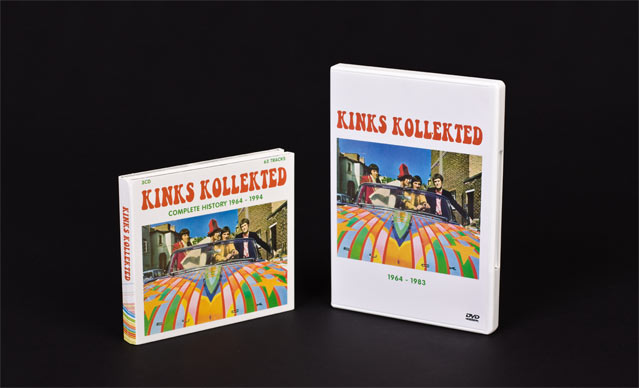 kinks collected cd en dvd